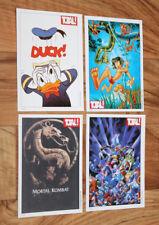 Old Collectible Card Mortal Kombat Laguna The Jungle Book Donald Duck Arcade