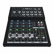 Mackie Mix8 8 Channel Mixing Desk 2 mic/line inputs 3-Band EQ