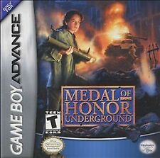 Medal of Honor: Underground - Game Boy Advance GBA Game