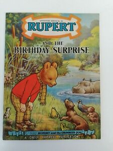 RUPERT ADVENTURE SERIES. NO. 24 RUPERT AND THE BIRTHDAY SURPRISE. VERY GOOD CON.