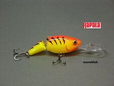 Rapala Wobbler Jointed Shad Rap 5cm JSR05 - HT - Hot Tiger