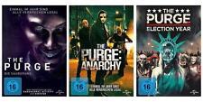 3 DVDs * The Purge 1 - 3 (Säuberung Anarchy Election Year ) Im Set # NEU OVP +