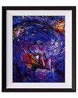 Jack Sally Jack and Sally Nightmare Before Christmas Starry Night Art Print A015