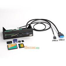 USB 3.0 PC Desktop Internal Card Reader M2 SD MS XD Card Dashboard Front Panel