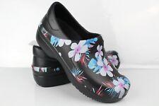 Crocs Women's Neria Pro II Graphic Clog Size 6 Black Floral 205385
