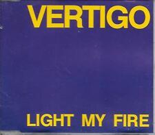 VERTIGO - light my fire CDM 4TR Disco 1990 West Germany print