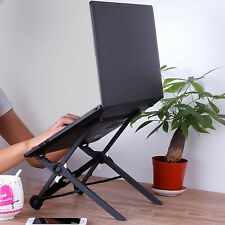 New Adjustable Vented Laptop Table Laptop Computer Desk Portable Tray Stand