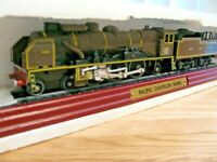 ATLAS EDITIONS 3 904 003 SNCF BROWN 4-6-2 PACIFIC CHAPELON NORD LOCOMOTIVE nu