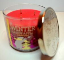 1 Bath & Body Works Scented filled WINTER CANDY APPLE  Candle 14.5oz NEW