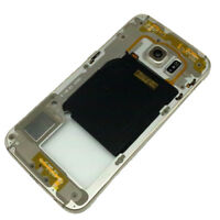 Samsung Galaxy S6 Edge G925F Replacement  Metal  Mid Frame Bezel Chassis Golden