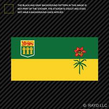 Saskatchewan Flag Sticker Decal Self Adhesive Vinyl Canada sk province