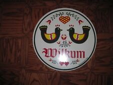 "24"" Pa Dutch Hex sign-Double Welcome (H-29) Made In The Usa"