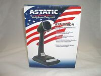 ASTATIC AST878DM CB RADIO POWER AMPLIFIED DESK MICROPHONE 4 PIN FOR COBRA UNIDEN