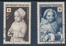 CO - TIMBRE DE FRANCE N° 914 et 915 oblitérés