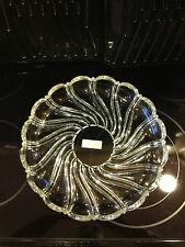 Mikasa Crystal Platter