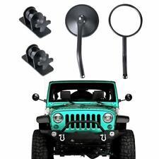 4X4 Round Mirrors Side View Mirrors for Jeep Wrangler JK JKU TJ 1997-2017