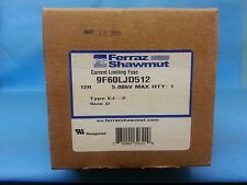FERRAZ SHAWMUT 9F60LJD512 CURRENT LIMITING FUSE 12R MSF EJ-2 FI 5.08KV FREESHIP