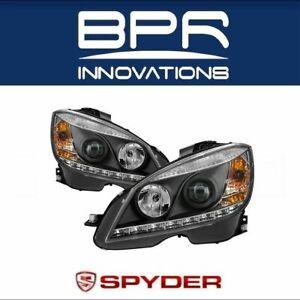 Spyder Auto Black Projector Head Lights For 08-11 Mercedes Benz C-Class  5042262