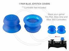 Blue Thumb Stick Joystick Cover Convex for Xbox 360 PS3 PS4 Controllers Raised