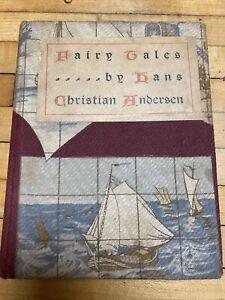 1898 Hans Christian Andersen's Fairy Tales 1st Ed Antique Hrd Bck Book H.Altemus