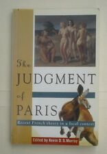 The Judgement of Paris: Recent French Theory, by Kevin Murray (ed)