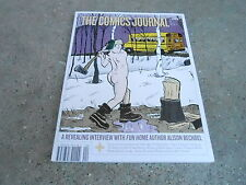#282 May 2007 Comics Journal vintage magazine (Unread) - Alison Bechdel
