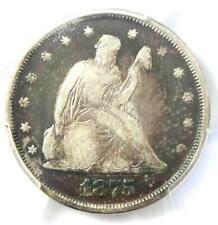 1875-P Twenty Cent Coin 20C - PCGS F12 - Rare Date 1875 Philadelphia Coin!