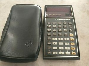 TI-57 Programmable Calculator Version 2 Refurbished
