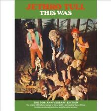JETHRO TULL - THIS WAS (3 CD+DVD) NEW CD