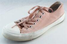 Converse All Star  Fashion Sneakers Pink Fabric Women8Medium (B, M)