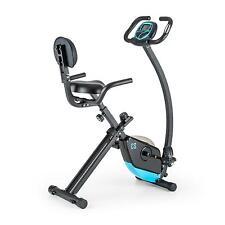 Cyclette Ellittica Cross Trainer Spin Training Cardio 8 Livelli Display LCD Gym