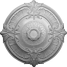 """39 1/2""""OD x 3 3/4""""ID x 2 1/2""""P Ceiling Medallion, CM6070"""