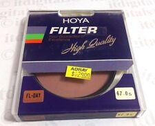 Hoya 67mm FL-DAY FL-D Daylight Balance Lens Filter Fluorescent 67 mm Japan Coate