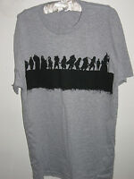 New THE HOBBIT AN UNEXPECTED JOURNEY T-SHIRT Silhouette Outline Grey Merch Promo