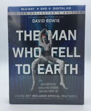 Man Who Fell To Earth, The (Blu-ray+DVD+ Digital, 2017; 3-Disc Limited Ed.) NEW