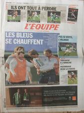 L'Equipe du 12/02/2011 - Tournoi : avant Irlande-France - Toulouse - Ouedraogo-