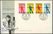 Zimbabwe 1981 Year Of Disabled Persons FDC First Day Cover #C14270
