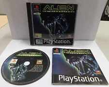 Console Game Gioco SONY Playstation PSOne PSX PS1 PAL ITA - ALIEN LA CLONAZIONE