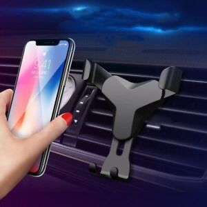 Car Air Vent Phone Holder Gravity Design Mount Cradle Stand Universal Adjustable