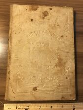 Rare 1846 Nursery Rhymes, Tales, and Jingles Hardcover Book-Philadelphia, 1st Ed