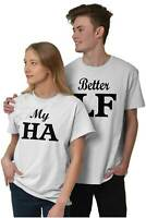 Relationship Boyfriend Girlfriend Couples Short Sleeve T-Shirt Tees Tshirts