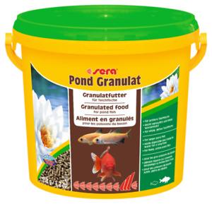 550g Sera Pond Granulat 3.8L BULK Staple Fish Food for Pond Goldfish Koi Fish