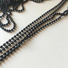 "10PCS Black Ball Chain 2.4mm Necklaces 26"" for pendants, dog tags *US SELLER*"