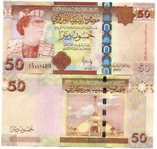 Libya - 50 Dinars 2008 UNC Lemberg-Zp