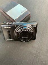 Nikon COOLPIX S9600 16MP WiFi Camera w/ 22x Optical Zoom (Black)..