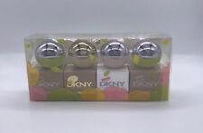 DKNY Mini Women's Perfume Gift Set (4x .24oz) Miniature Fragrance Bottles