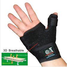 IRUFA 3D Breathable Reversible Thumb Wrist Brace Palm Stabilizer Splint Spica