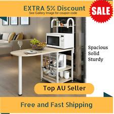 Kitchen Benchtop Island Modern Storage Space Shelf Bench Cabinet - White