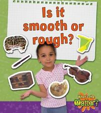 Is It Smooth or Rough? (What's the Matter?)-ExLibrary
