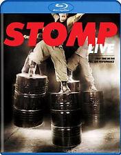 STOMP LIVE (Melanie Joseph) - BLU RAY - Region Free - Sealed